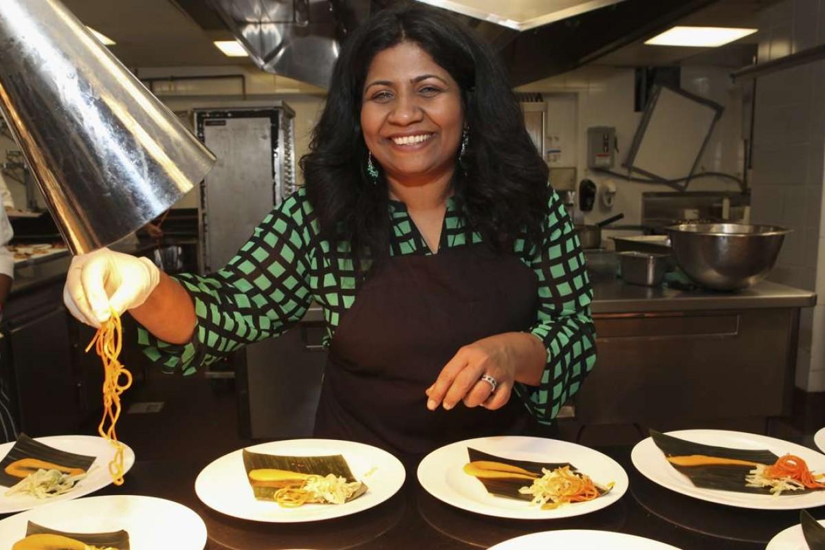 Chef Asha Gomez. Picture: AFP