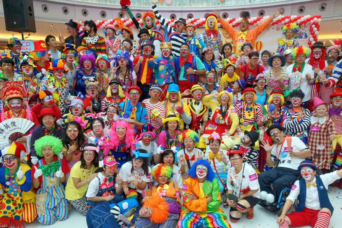 About 200 clowns attended and competed at the World Clown Association Convention in Bangkok last week. Handout photo