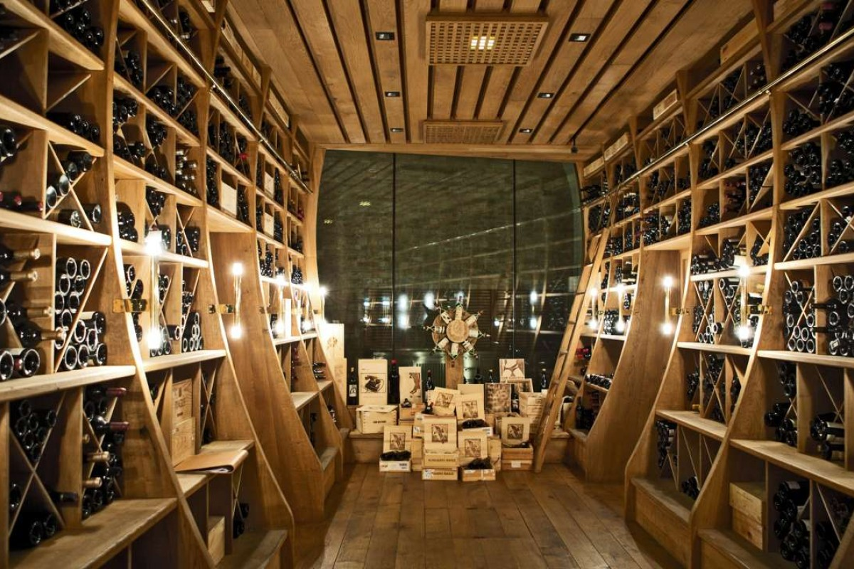 There is a sea of Château d'Yquem, a lake of Lafite, and rivers of the very finest reds and whites from both the Old World and the New
