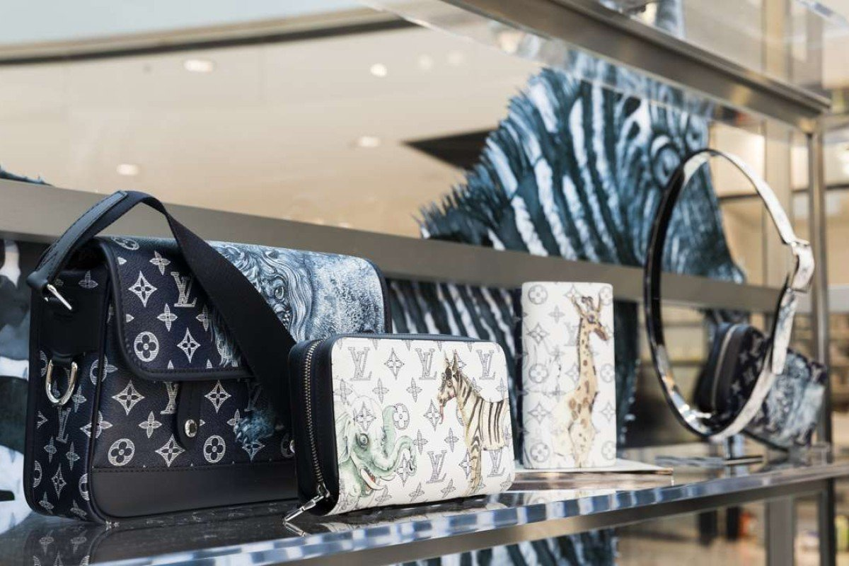 Louis Vuitton launches pop-up store in Landmark for spring-summer 2017 collection. For the collection, menswear artistic director Kim Jones collaborated with the Chapman brothers.