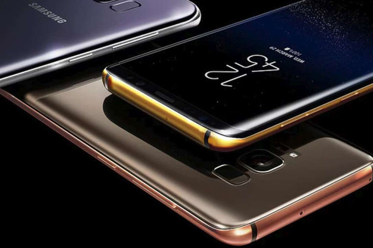 Bespoke luxury specialists Truly Exquisite offer gold- and platinum-plated smartphone cases for the Samsung Galaxy S8 and S8+