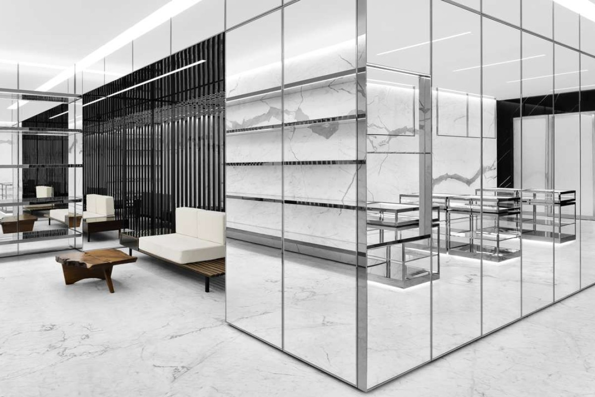 Saint Laurentu0027s Second Flagship Store In Ginza Is A Sophisticated World Of  Marble, Brass And