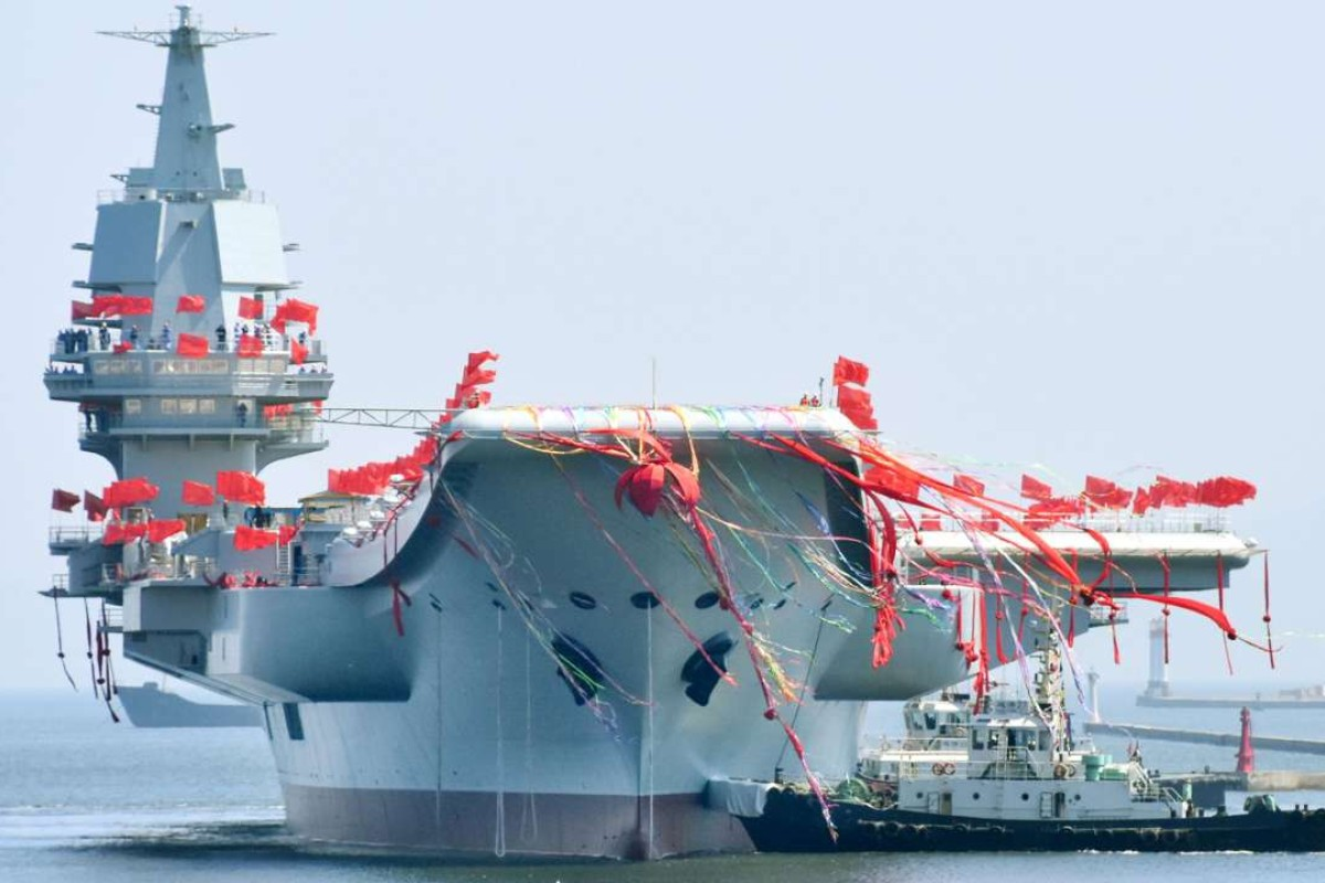 China Celebrates Launch Of 'Homemade' Aircraft Carrier