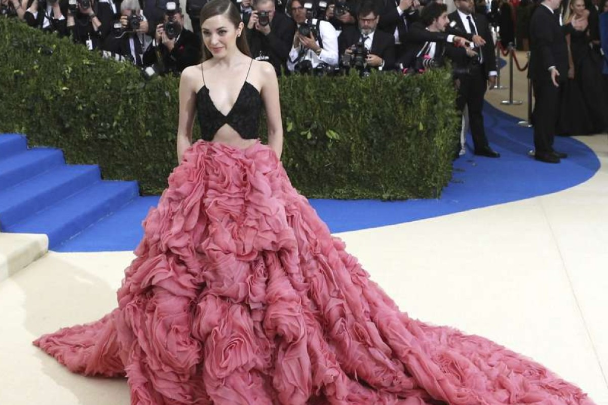 Laura Osnes arrives on the red carpet for the Metropolitan Museum of Art Costume Institute's benefit celebrating the opening of the exhibit 'Rei Kawakubo/Comme des Garcons: Art of the In-Between' in New York, New York, USA, 01 May 2017. The exhibit will be on view at the Metropolitan Museum of ArtÕs Costume Institute from 04 May to 04 September 2017. EPA/JUSTIN LANE