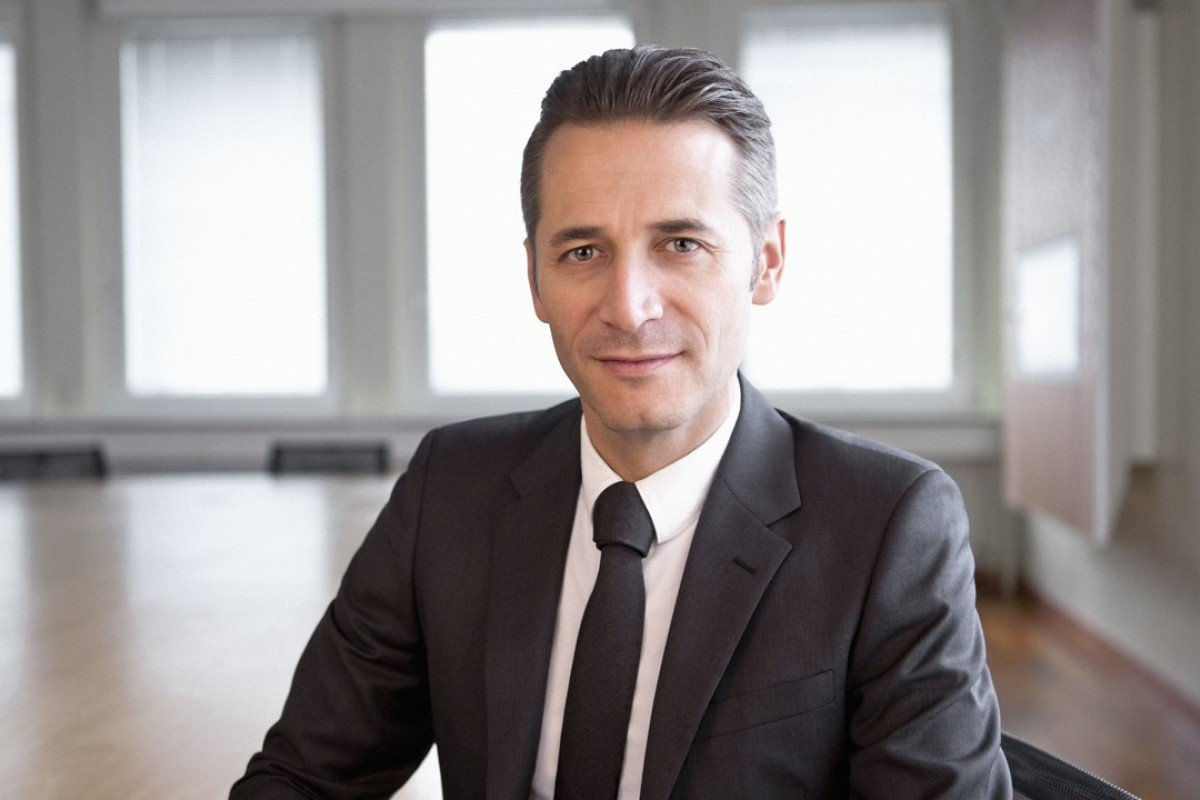 Raynald Aeschlimann, President and CEO of Omega