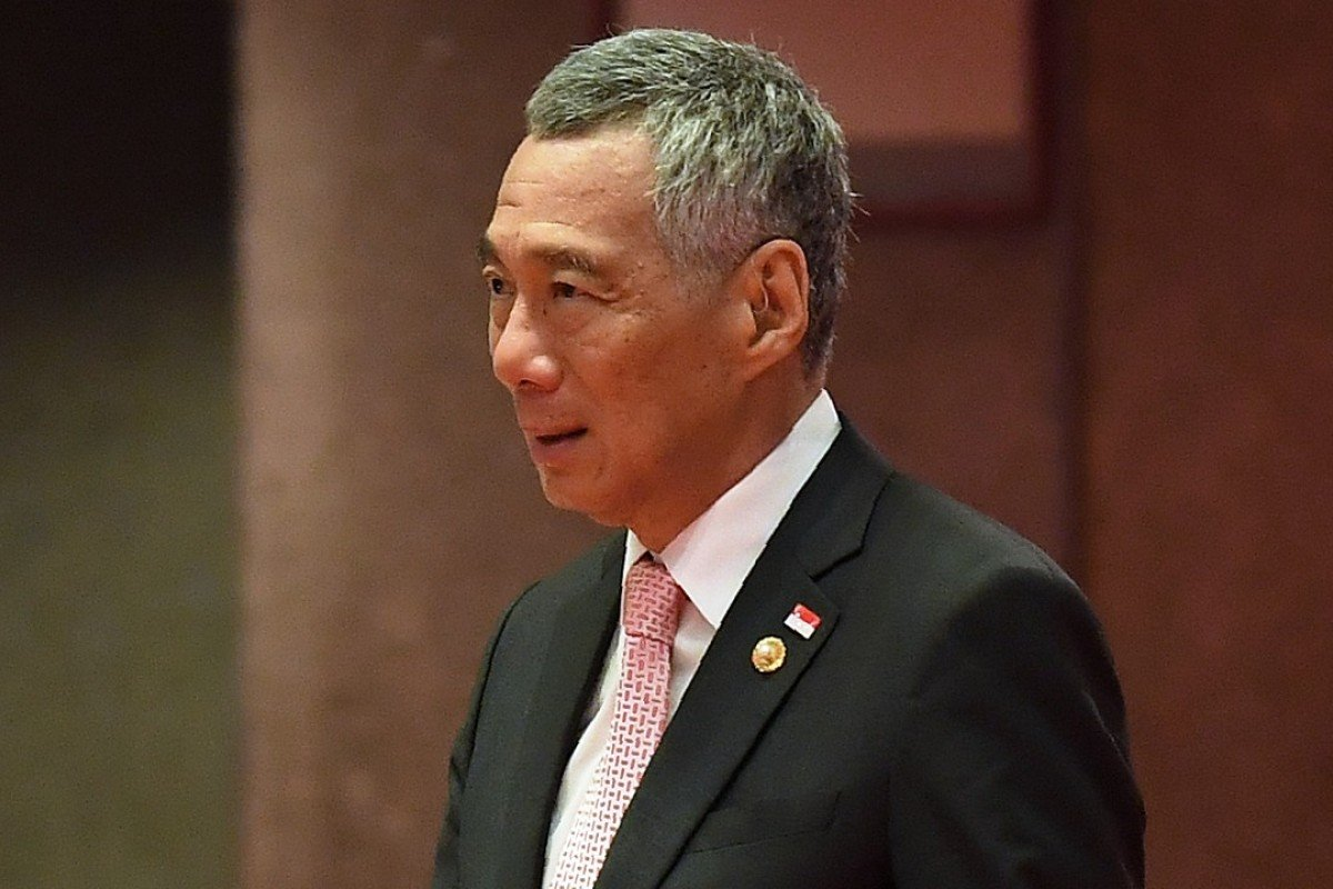 Not invited: Singaporean Prime Minister Lee Hsien Loong. Photo: AFP
