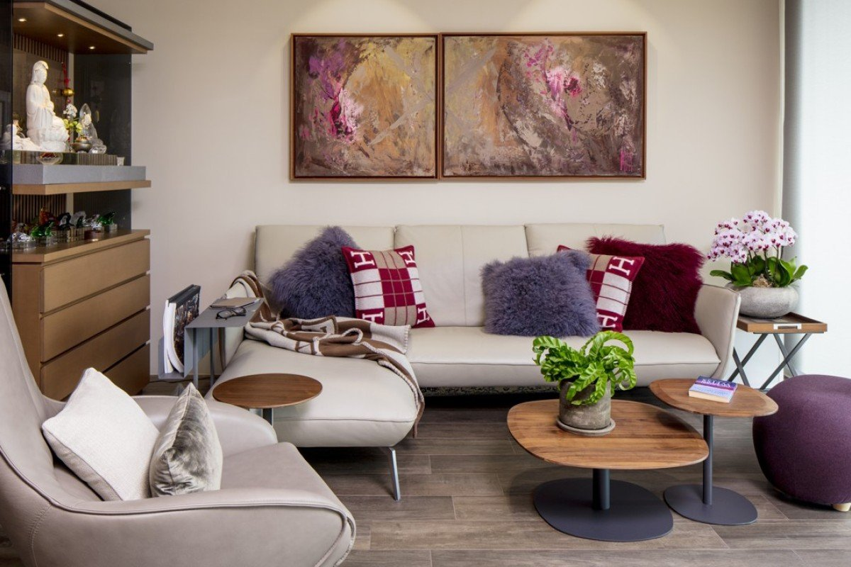 The Sha Tin flat remodelled by hairdresser Kim Robinson. Photography and video: John Butlin. Styling: David Roden