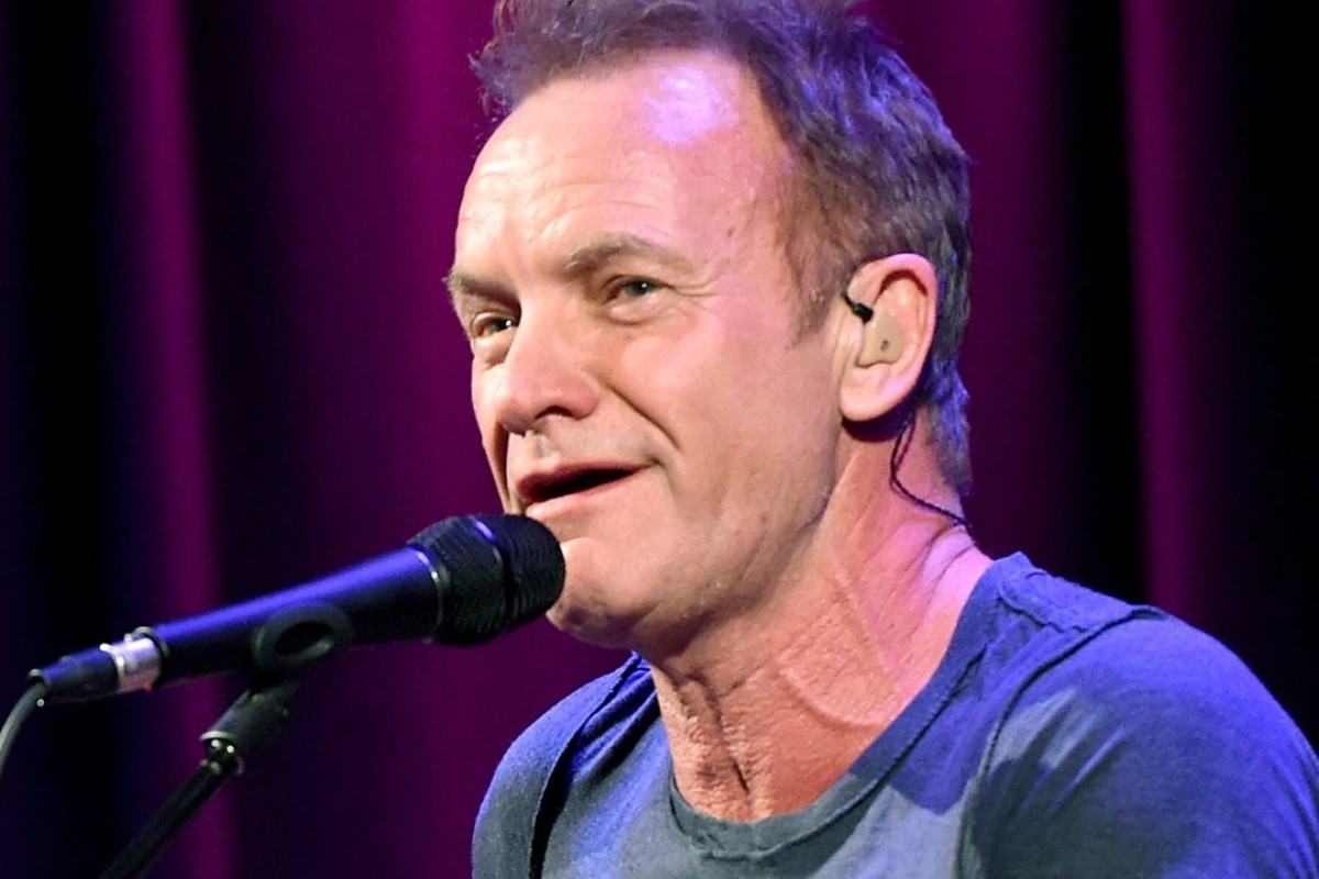 Sting will play the Hong Kong Convention & Exhibition Centre on June 3. Picture: AFP