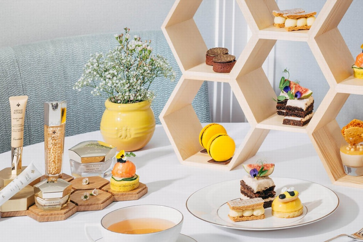 The luxury beauty brand is introducing new products with a special afternoon tea which incorporates the extraordinary properties of honey