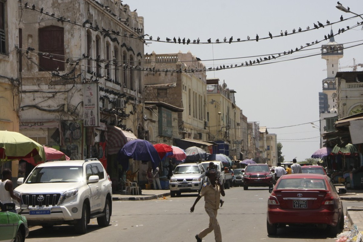 "The ""European quarter"" in Djibouti City. Picture: James Jeffrey"