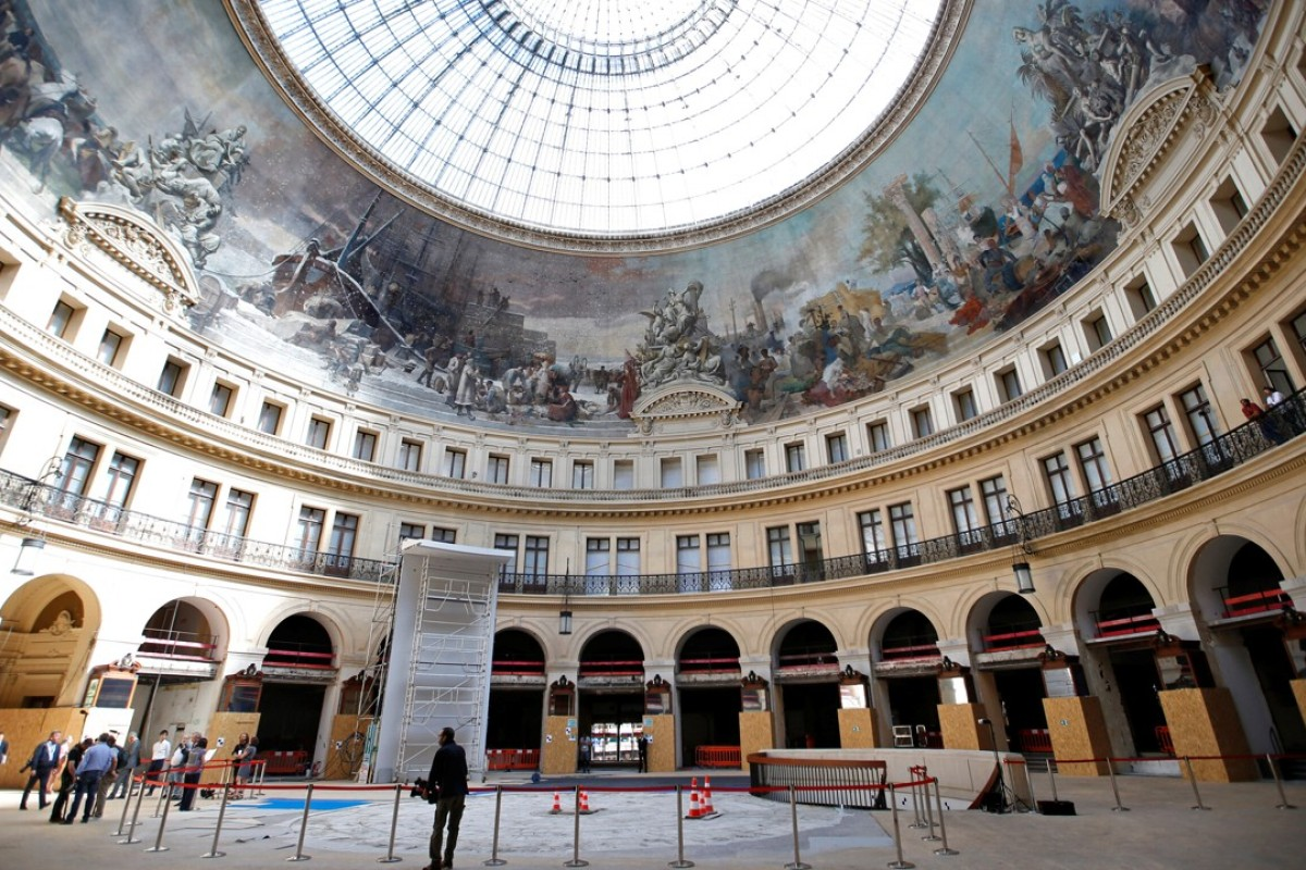 "A general view of the ""Bourse du Commerce"" by architects Francois-Joseph Belanger and Henri Blondel, which will host the contemporary art museum of the Pinault Foundation in Paris. Photo: REUTERS"