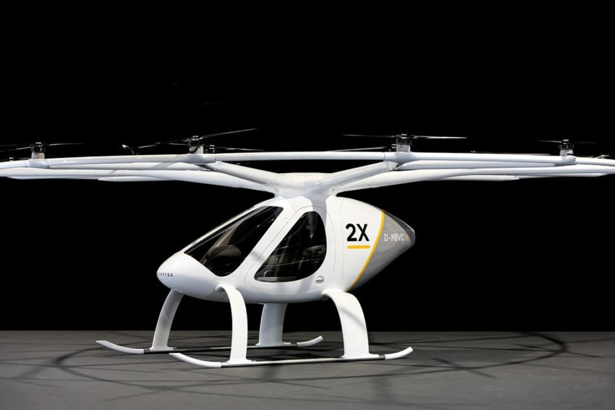 German startup Volocopter will shuttle passengers in its futuristic, flying taxi in Dubai before the end of the year