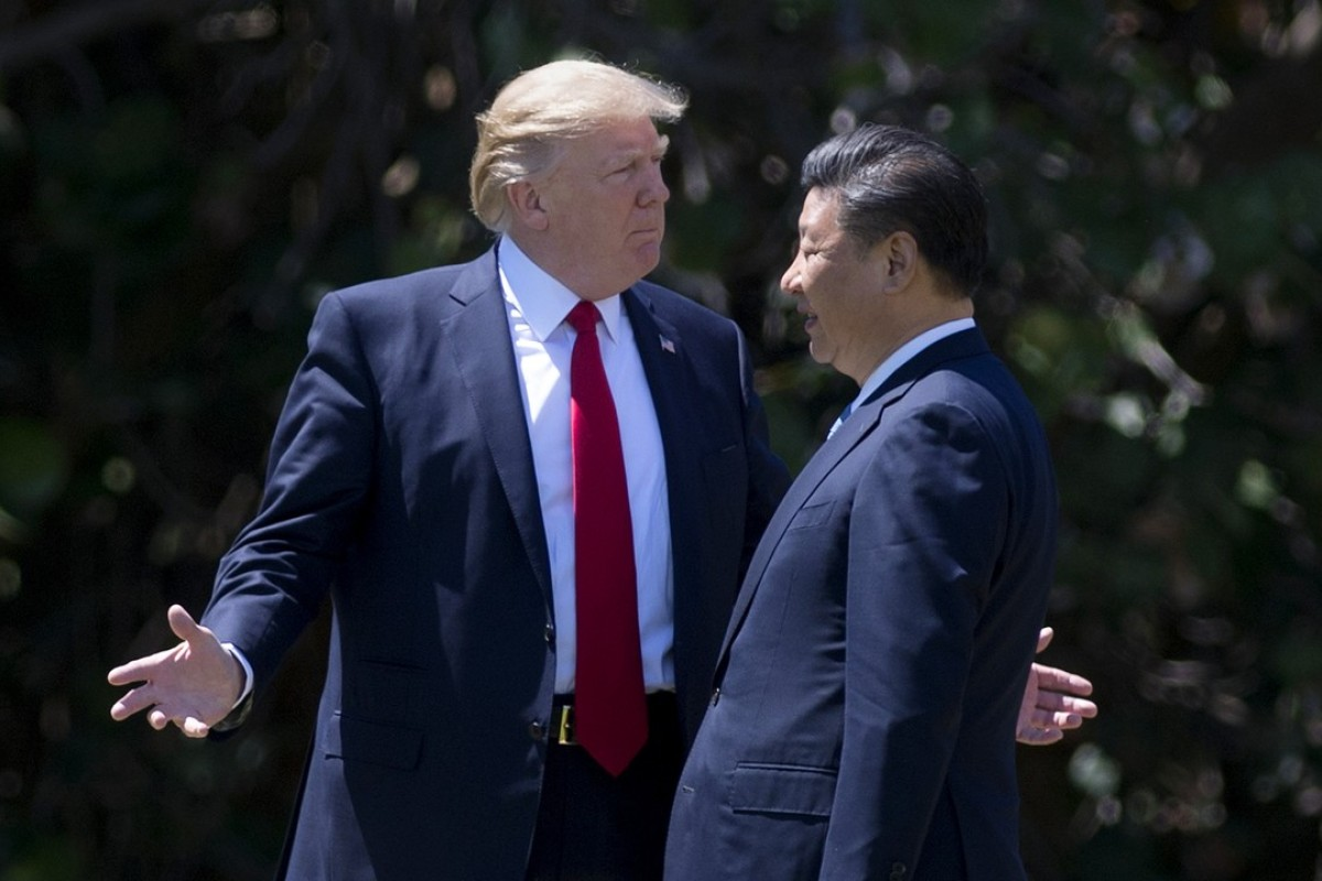 US President Donald Trump and Chinese President Xi Jinping: Is the bromance over? Photo: AFP