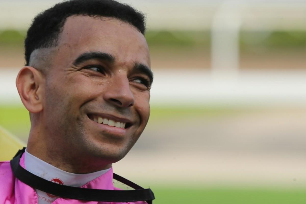 Star jockey Joao Moreira. Photos: Kenneth Chan