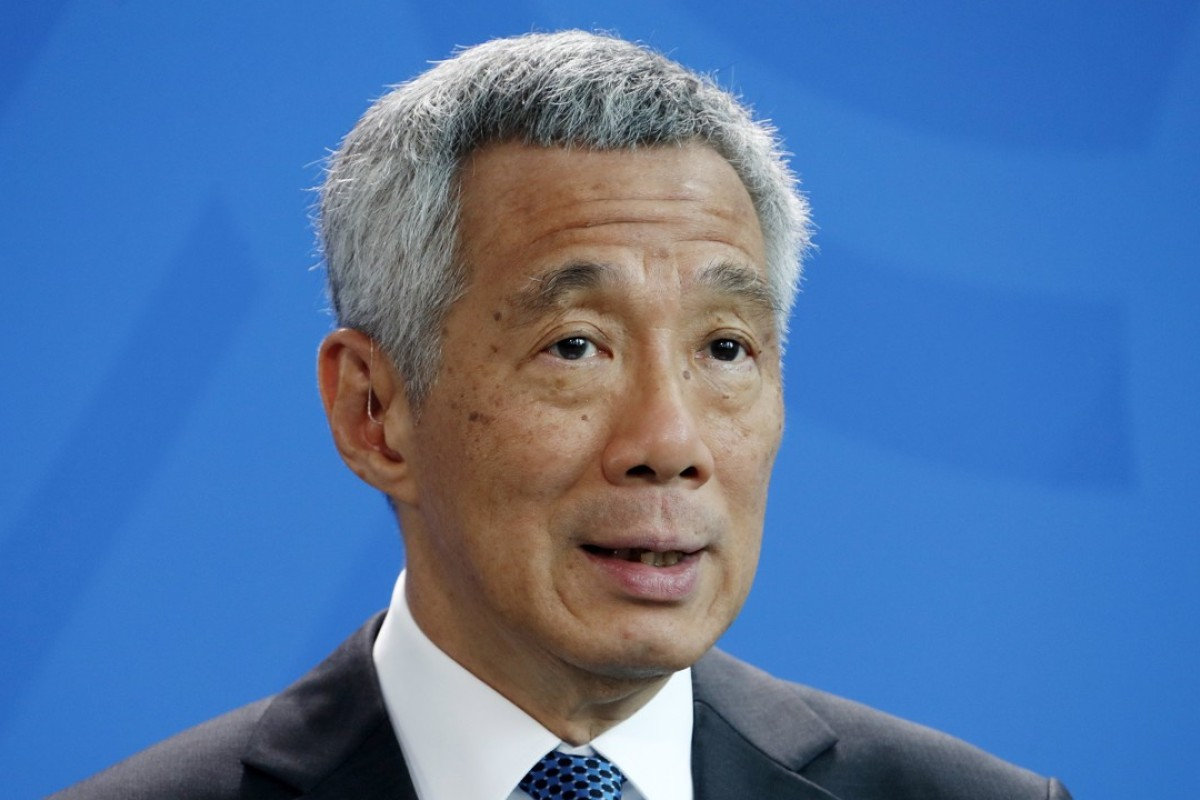 Singapore Prime Minister Lee Hsien Loong has come under some scrutiny for comments about China that a few domestic critics say had lacked tact. Photo: EPA