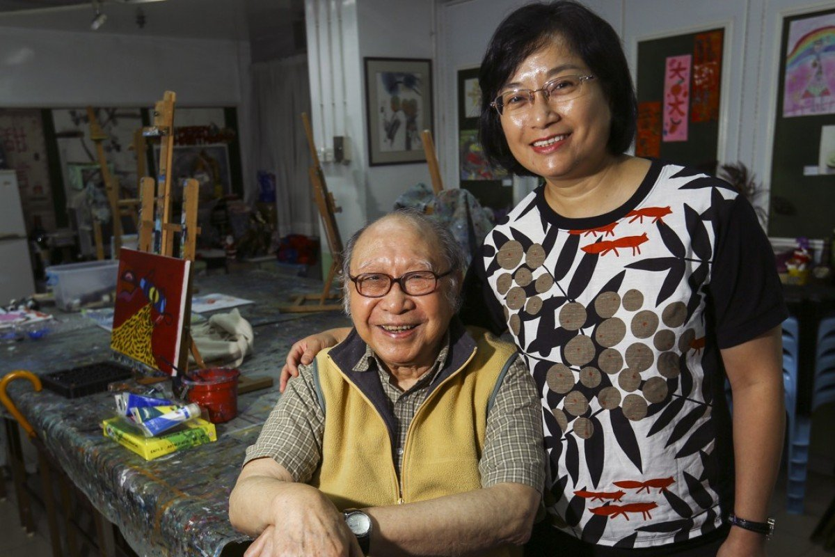 Gaylord Chan and his wife, Josephine Chow. Picture: SCMP