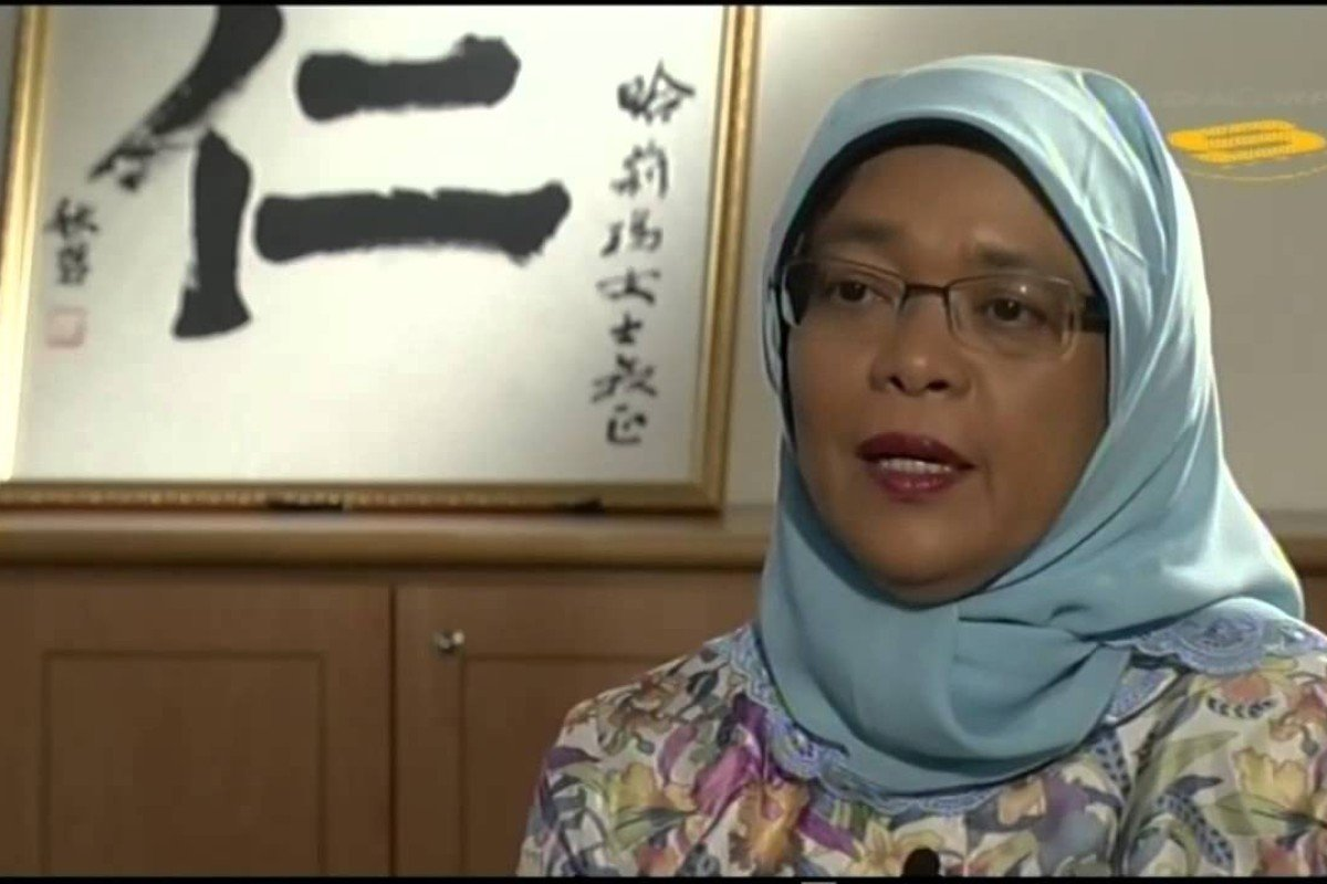 Halimah Yacob is favoured to become Singapore's first female president next month. File photo