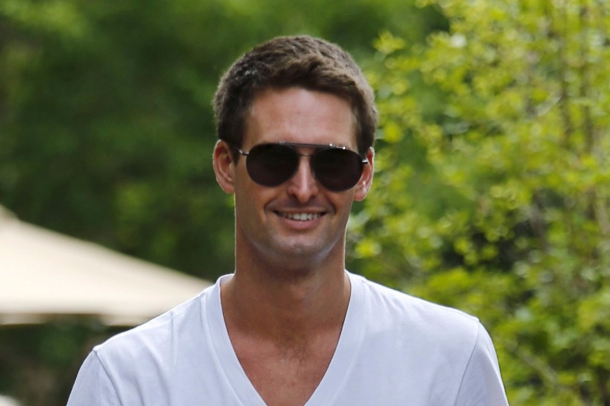 Snap CEO Evan Spiegel prefers Tom Ford sunglasses.Photo: REUTERS