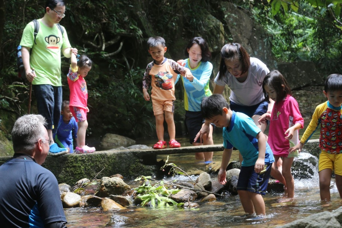 To this day children are drawn to the natural beauty of Tai Po Kau, where 62 years ago a party of youngsters were swept to their death by a flash flood. Photo: David Wong