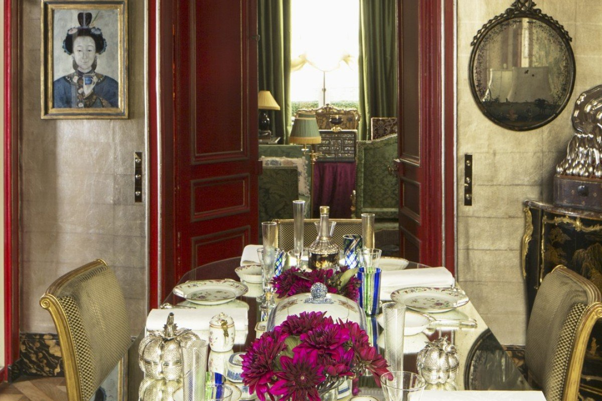 Charles Garnett and Sylvain Lévy-Alban's 18th-century Parisian apartment. Photography: Pascal Chevallier