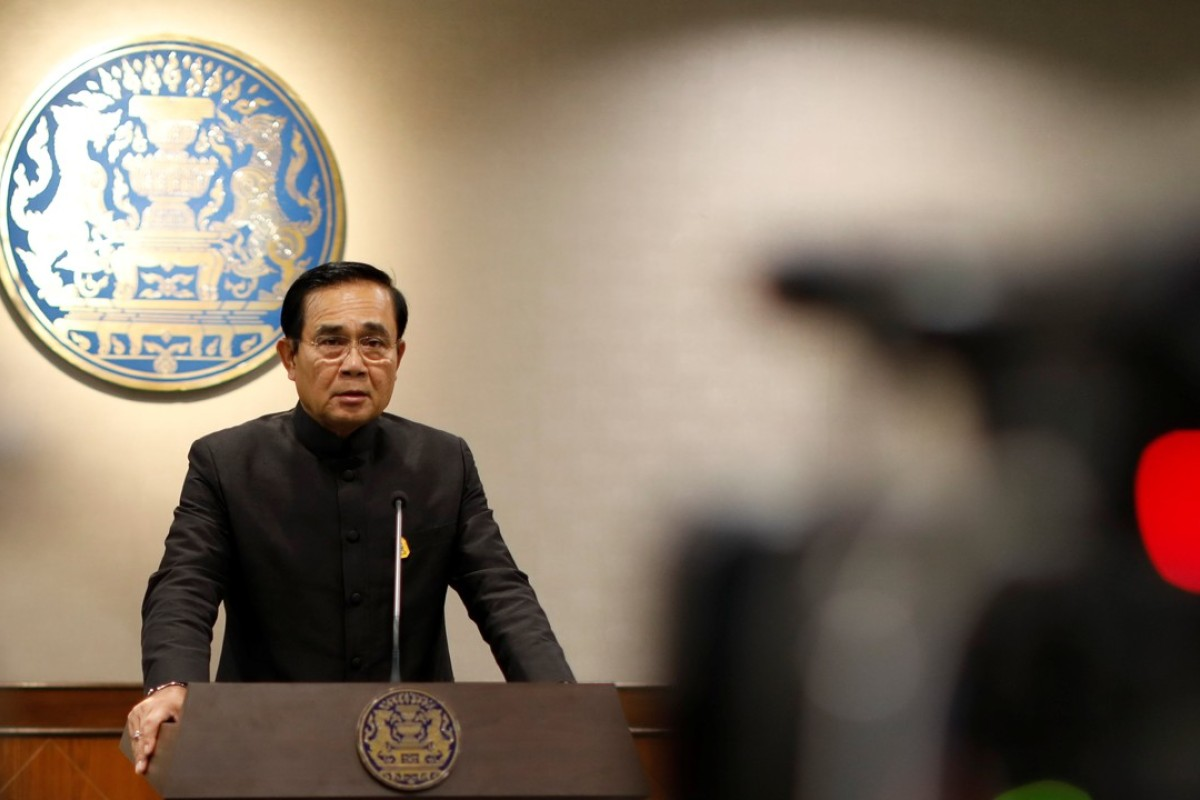 Thai Prime Minister Prayuth Chan-ocha. Photo: Reuters