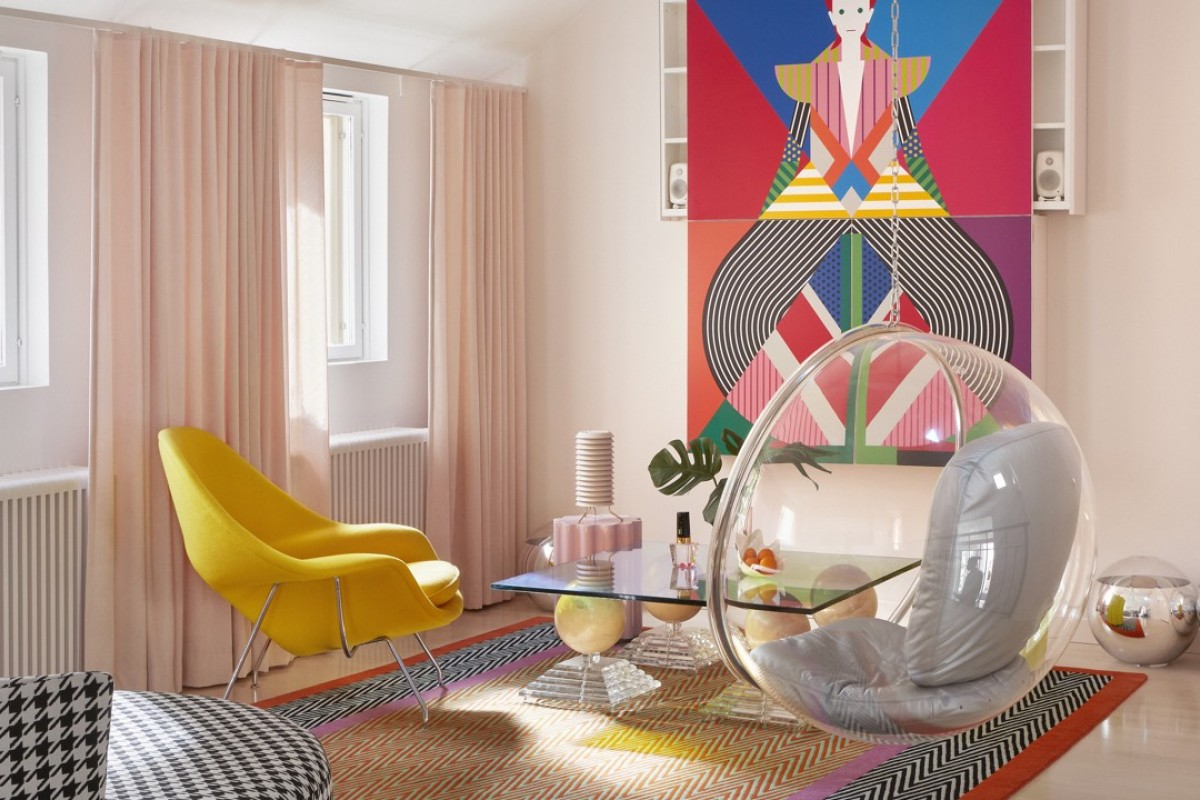 """Minna Parikka says that designing interiors is like building a puzzle: """"You want to find all the right parts that will fit your vision, personality and needs. It's a fun game."""""""