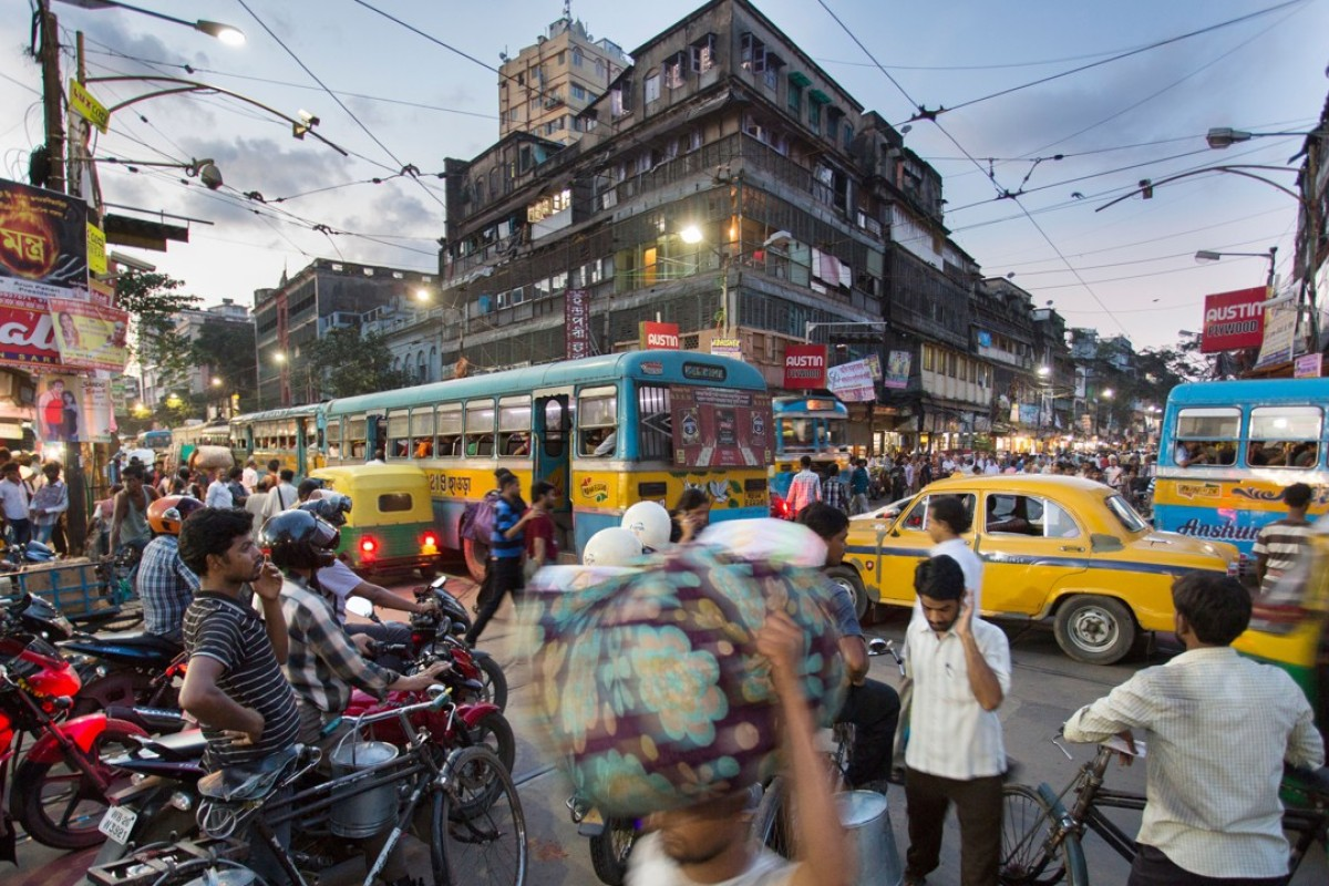 Calcutta, in West Bengal, India. Picture: Alamy