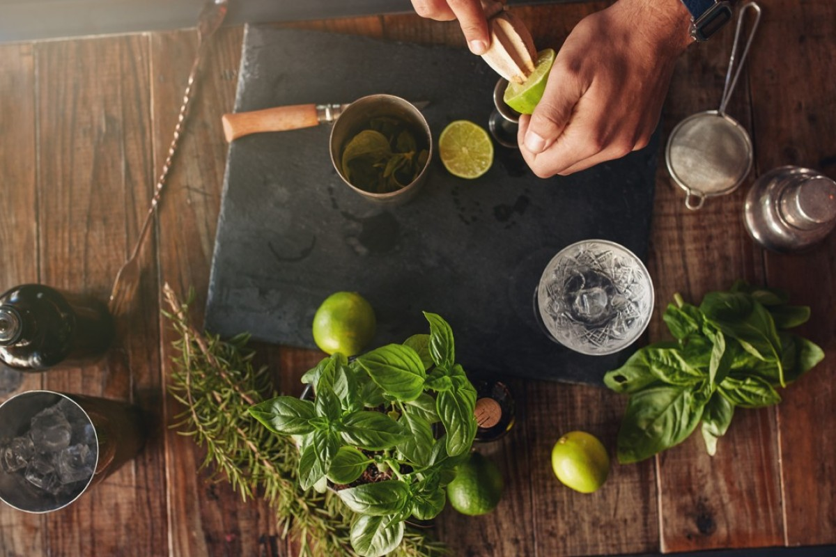Mixology advances have meant that more bars are experimenting with herbs to create new cocktails..