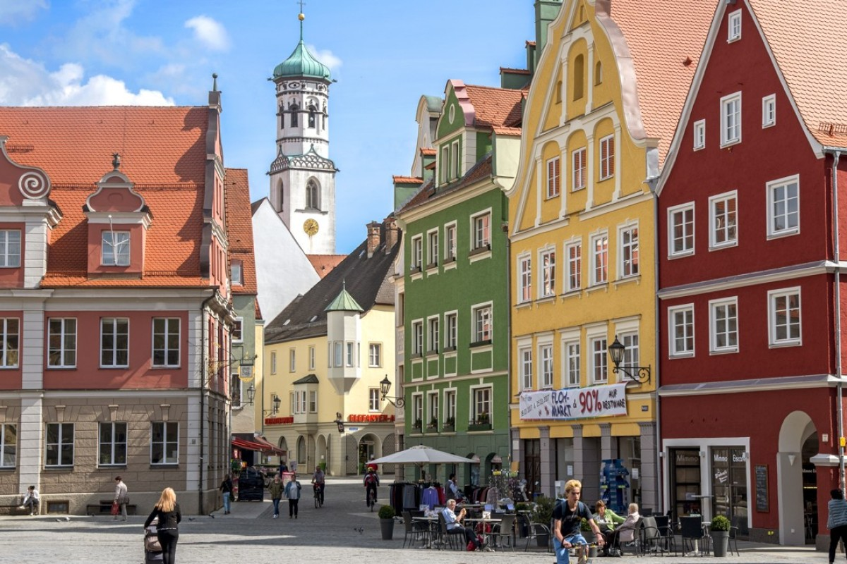 The market place in Memmingen, Bavaria, Germany. Pictures: Tim Pile