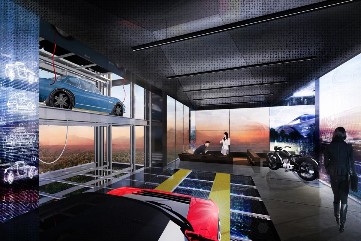 Garage Man Cave Reddit : Ultimate garage is a vertical vehicle showcase workshop