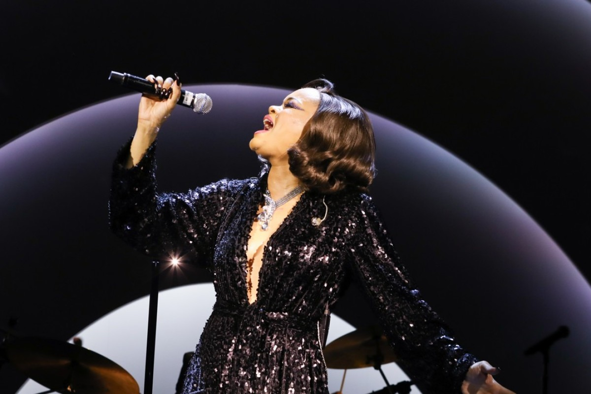 Guests were entertained by Andra Day.