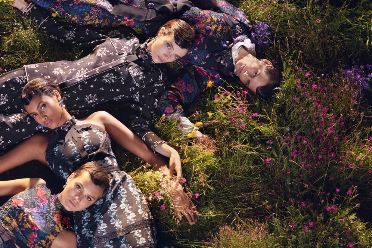 Floral print designs are to the fore in the Erdem x H&M collection, which goes on sale worldwide from November 2.