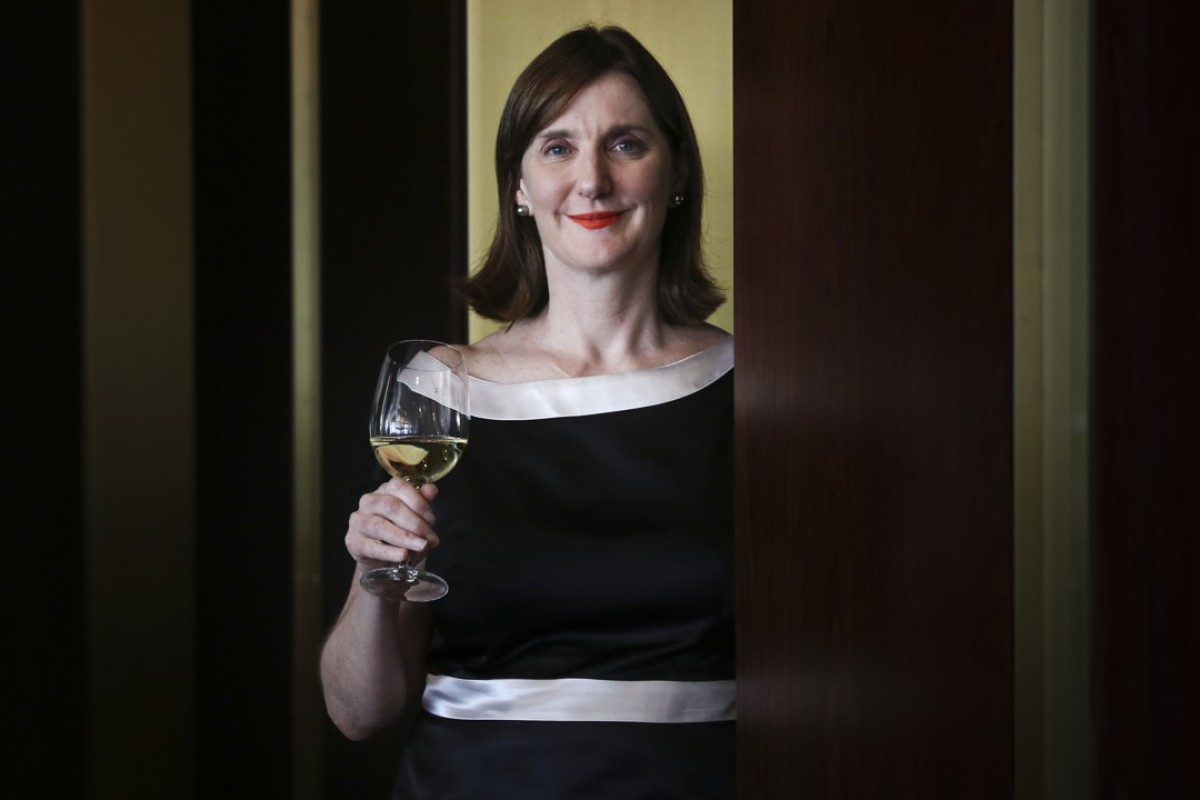 Sue Hodder, senior winemaker at Wynns Coonawarra Estate in South Australia, during a recent visit to Hong Kong. Picture: Jonathan Wong