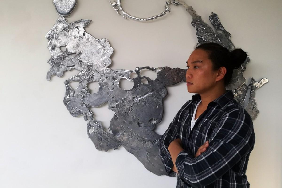 Filipino sculptor and designer Jinggoy Buensuceso. Picture: Sam Manalo