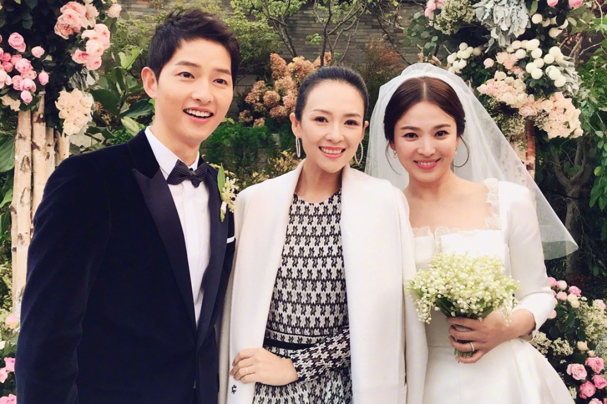 Song Joong-ki, Zhang Ziyi and Song Hye-kyo.