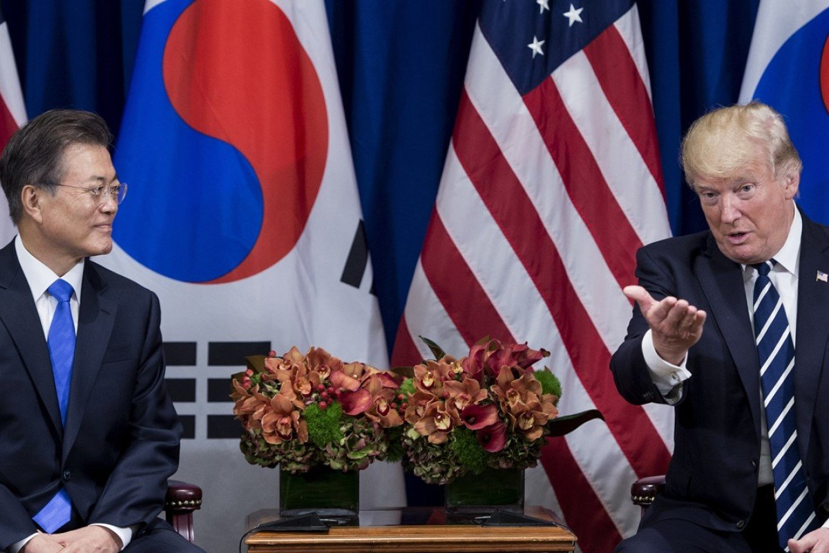 Donald Trump's trip marks the first visit to Seoul by a foreign head of state since Moon Jae-in took office in May. Photo: AFP