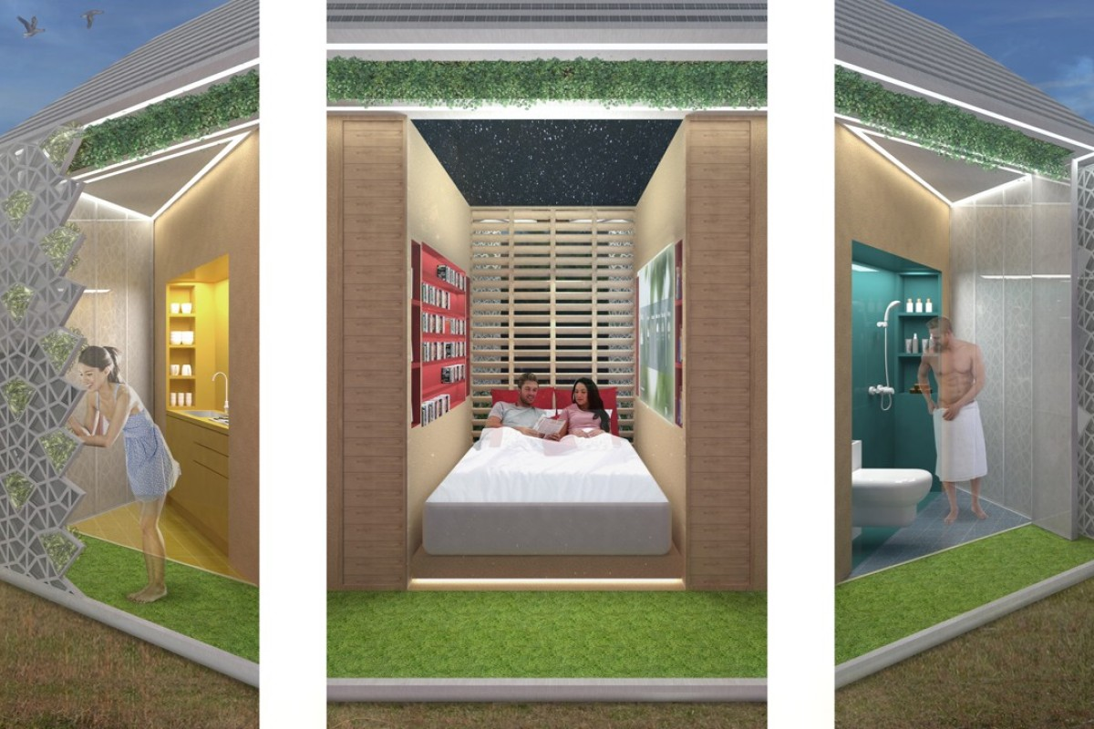 Sustainable Glamping Pod Offers Comfort Of Urban Life In