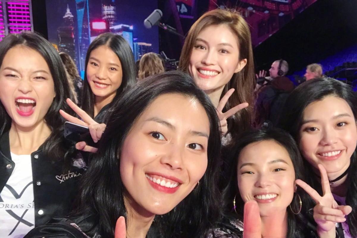 (Clockwise, from left) Xin Xie, Wang Yi, He Sui, Ming Xi, Ju Xiao Wen and Liu Wen.