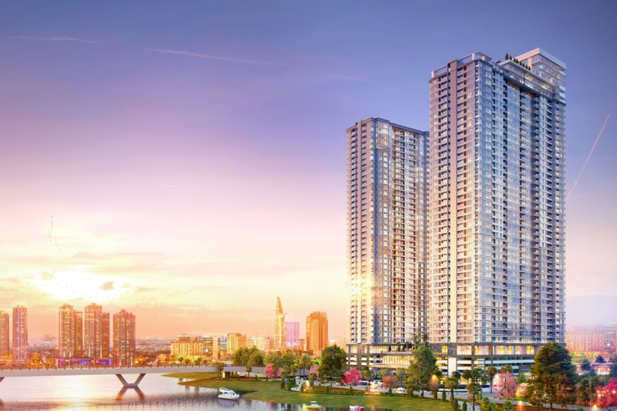 Sunwah Pearl promises a luxury lifestyle and fine riverside views in Ho Chi Minh City, Vietnam