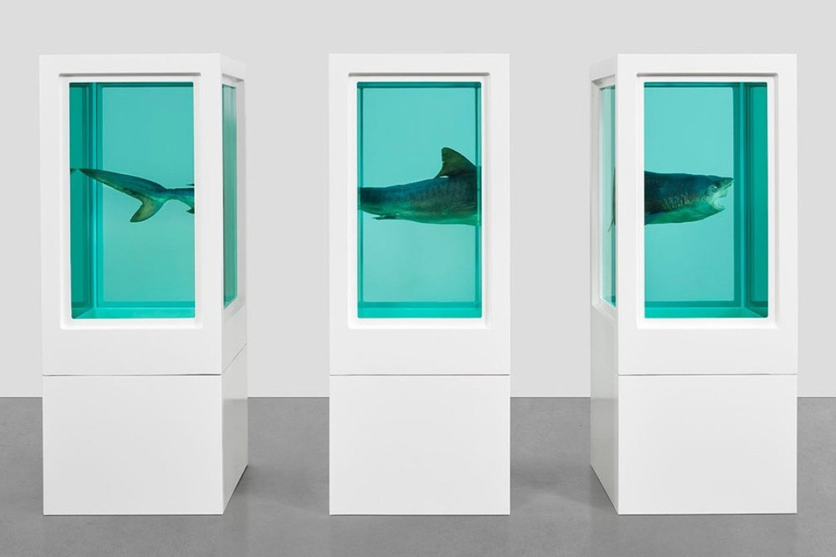Damien Hirst's 'Visual Candy and Natural History' exhibition opens in Hong Kong