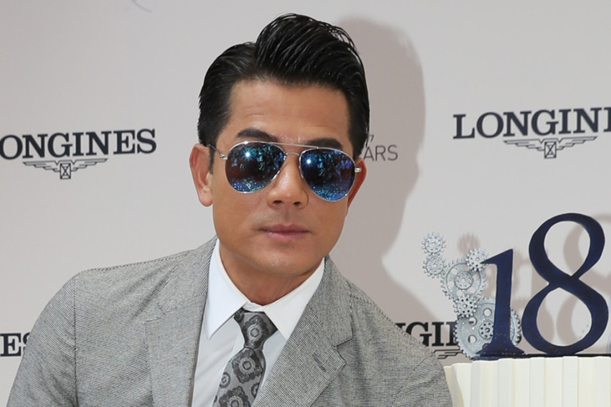 Aaron Kwok is looking forward to his first Christmas as a father.