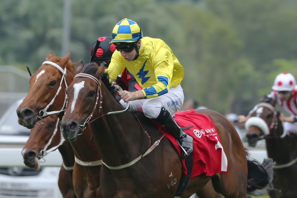 Werther and Tommy Berry win at Sha Tin last month. Photos: Kenneth Chan