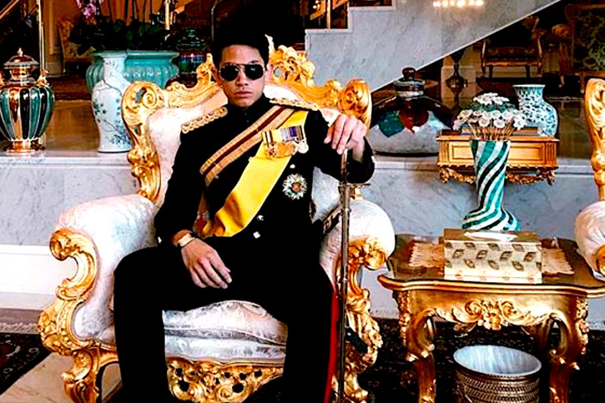 Brunei's Prince Abdul Mateen. Photo: Instagram