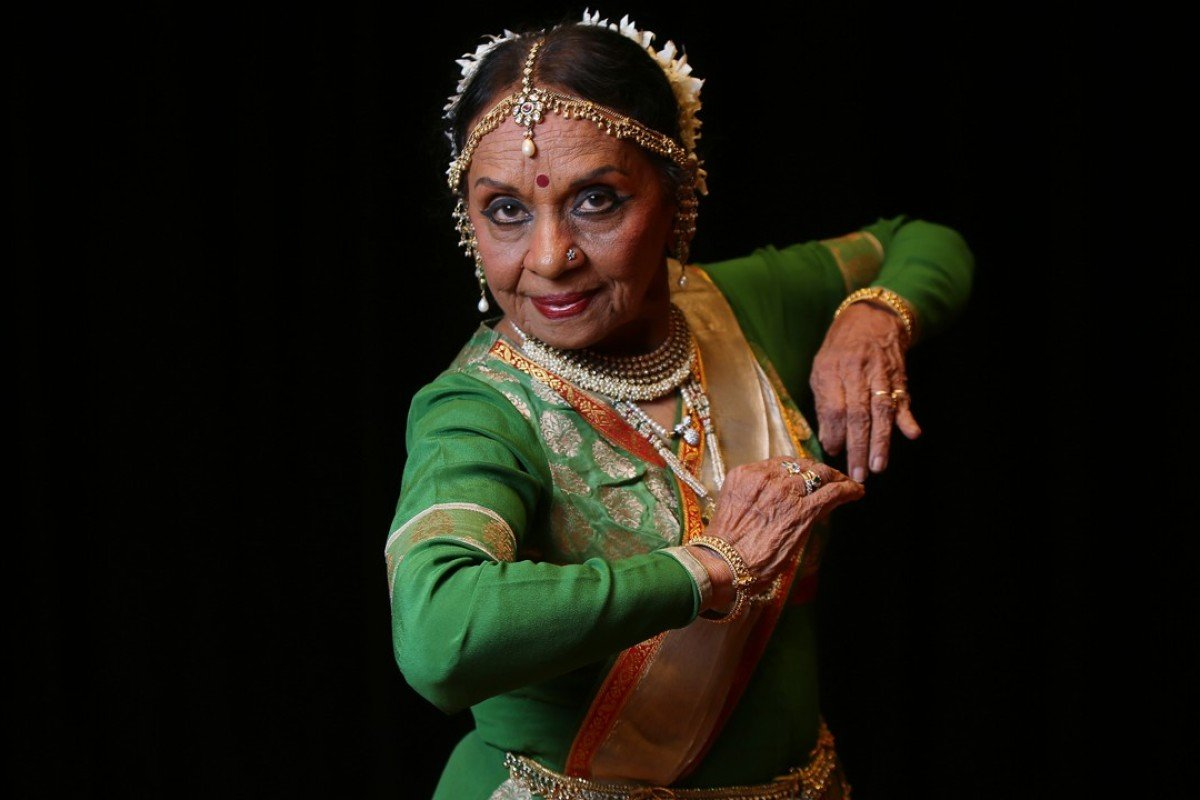 Sunayana Hazarilal teaches a form of Kathak Indian classical dance to students around the world. Pictures: Xiaomei Chen