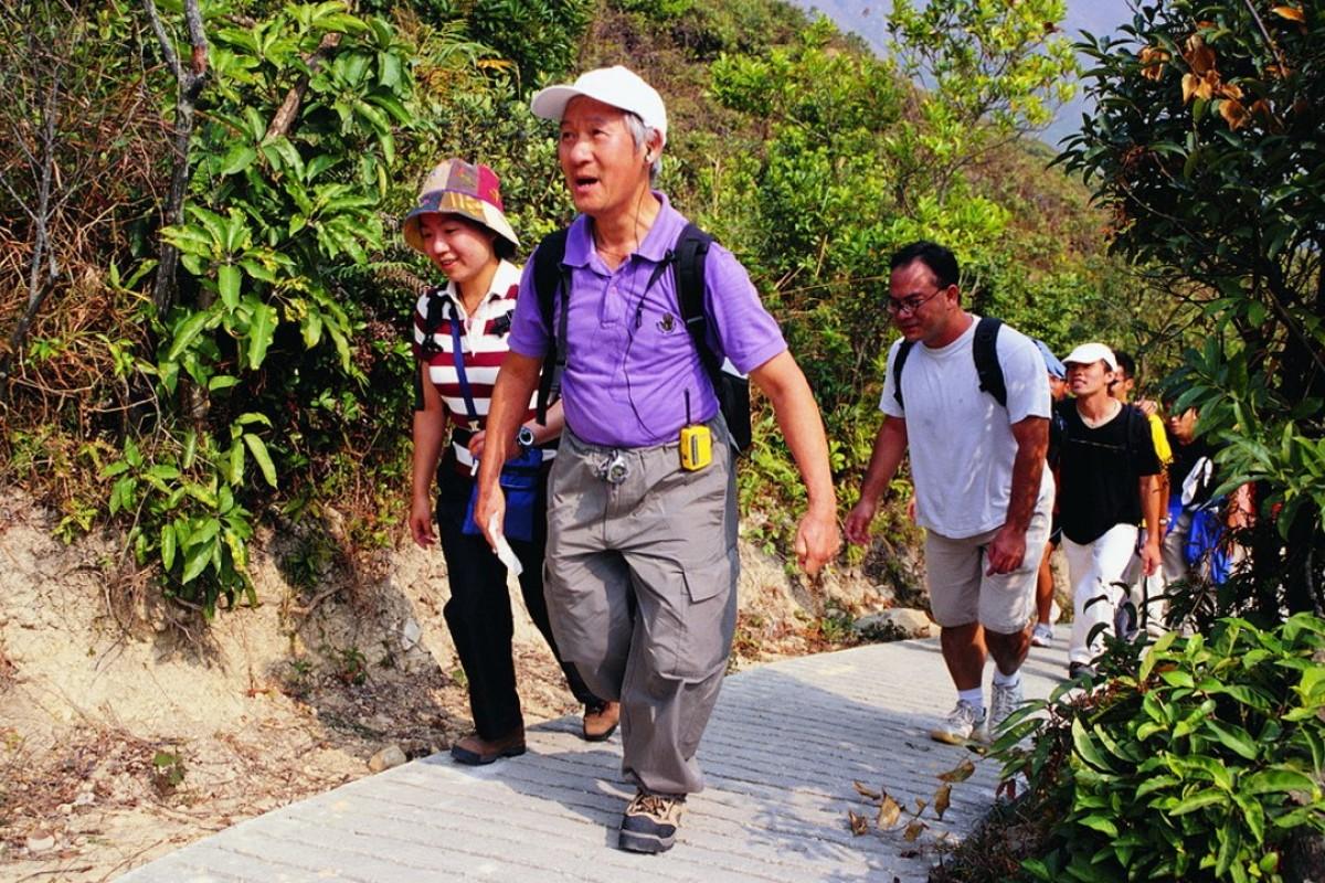 Hiking should be a peaceful time for Hongkongers.