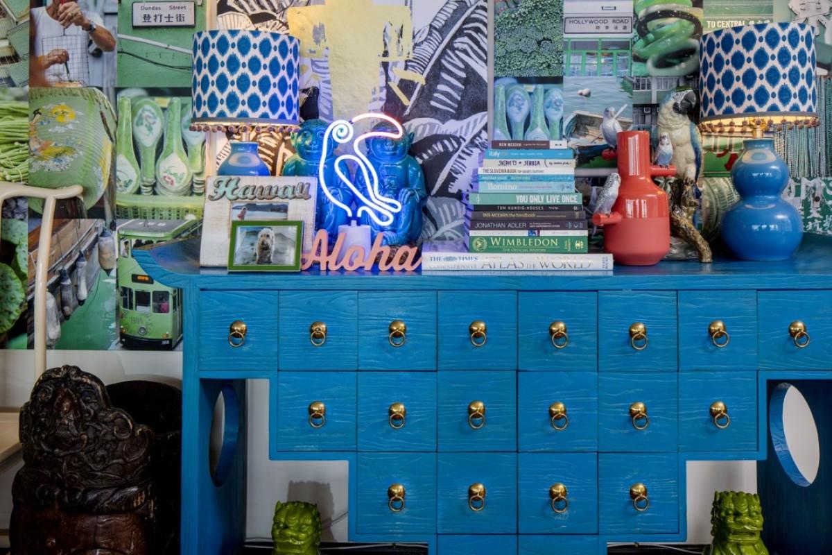 American\'s Hong Kong duplex a riot of exuberant colour, runaway fun ...