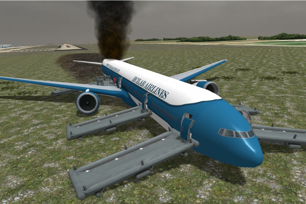 The Prepare for Impact app is simulator game designed to prepare passengers for aircraft emergencies.