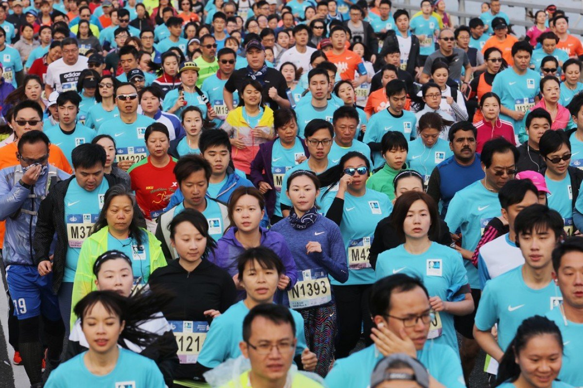Thousands of runners take part in the Standard Chartered Hong Kong Marathon each year. Photo: Felix Wong
