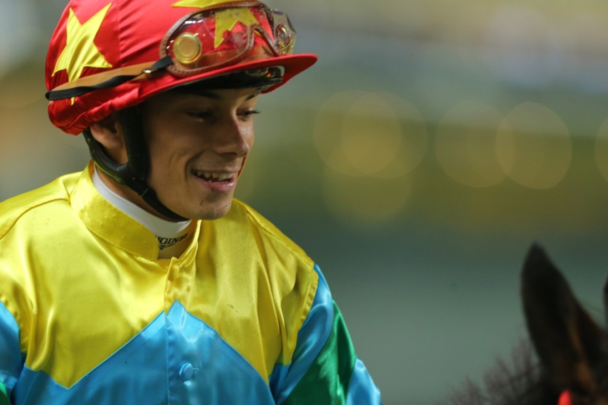 French jockey Alexis Badel. Photos: Kenneth Chan