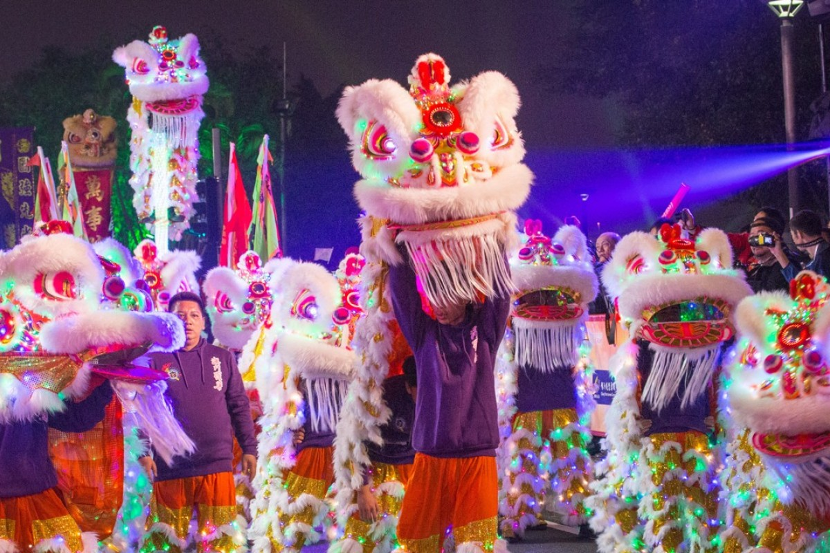 Parade to celebrate the Lunar New Year in Macao. Photo: Macao Government Tourism Office